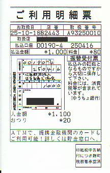 日本盲導犬協会への寄付控え